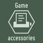 Game accessories by Catspaw-DTP-Services