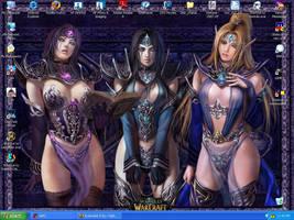 My Desktop Cuties by Yi-Phan