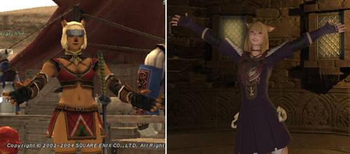 Ashria - FFXI vs. FFXIV by Yi-Phan