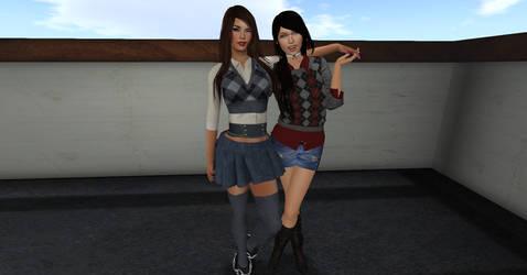 Sisters Reunited by Yi-Phan