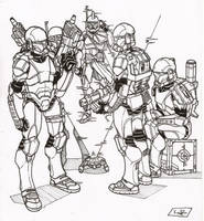 clone commandos by secowankenobi