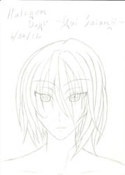 Halcyon Days' Yui Saianji by Tenjiyo200