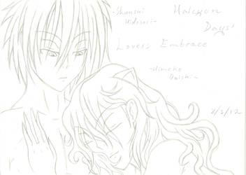 Lovers' Embrace by Tenjiyo200
