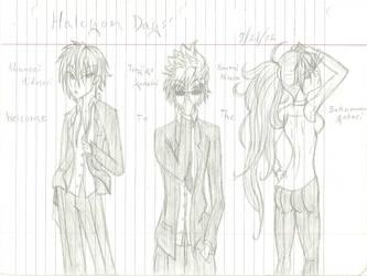 Halcyon Days' Bakemonogatari by Tenjiyo200