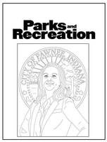 Parks and Recreation's Leslie Knope by Pi-Zazz