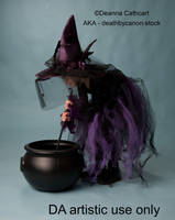 Little Witch 2 by deathbycanon-stock