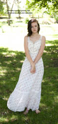 Prairie Dress 009 by deathbycanon-stock