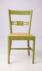 Green Kitchen Chair2 by deathbycanon-stock