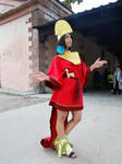Kuzco (The Emperor's New Groove) Lucca Comics 2018 by Groucho91