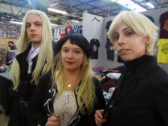Malfoy family - Forlive 2018 by Groucho91