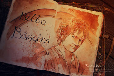 Bilbo Baggins by Kinko-White