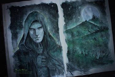 The Necromancer of Dol Guldur by Kinko-White