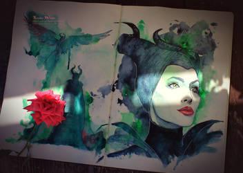 Maleficent by Kinko-White