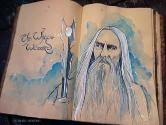 The White Wizard by Kinko-White