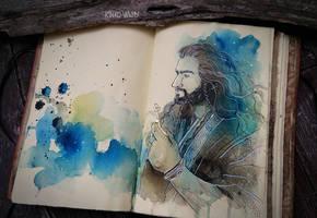 Thorin(sketch) by Kinko-White