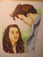 Bella Swan And Edward Cullen by Lisa99