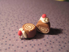 sculpey cake rolls by Lisa99