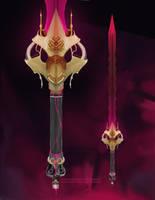 Evil Sword - deepfried25 Commission by pr0x1ma