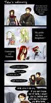 Talon's Welcoming by ShiNaa