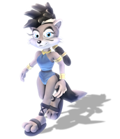 +3D Model Download+ Lupe The Wolf by JCThornton