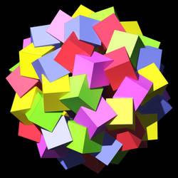 Chiral Cubes by TaffGoch