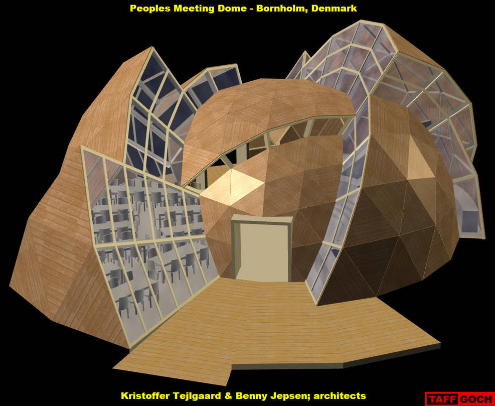 Peoples Meeting Dome by TaffGoch