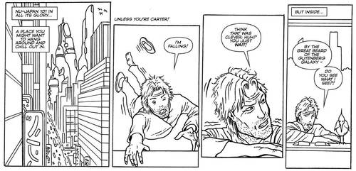 Carter's Column Ep45 inks/letters by MightyJonE