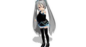 MMD Newcomer - Chibi Hagane Miku DL by Metalmiku2