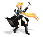 Tda (Akita) Kinzokunaga Neru/Hagane Styled Neru DL by Metalmiku2