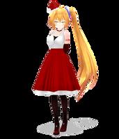 Tda Christmas Neru by Metalmiku2