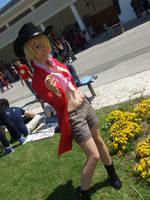Sanjiko, One Piece STRONG WORLD cosplay by Mellorineeee