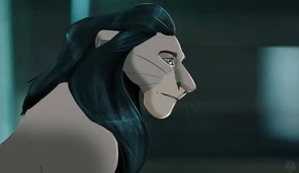 Loki Avengers Lion by dyb
