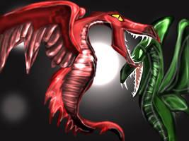 dragons by dyb