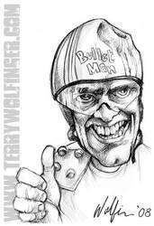 Bullit Man by WolfieArtGuy
