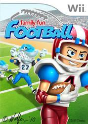 Family Fun Football box by WolfieArtGuy