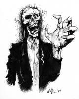 Zombie by WolfieArtGuy