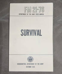 Survival Field Manual by MajorBlades