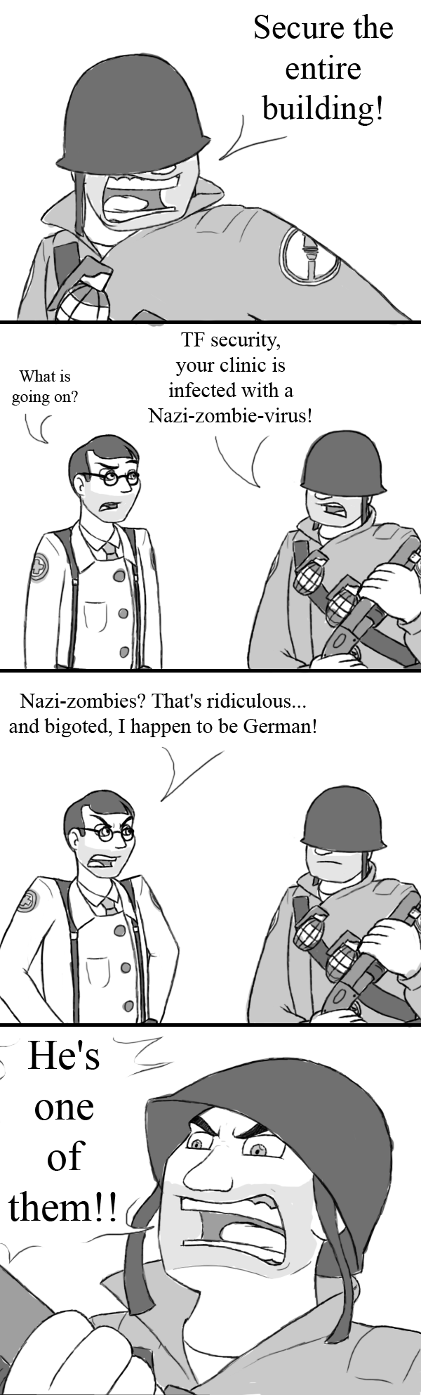 Tf2 Nazi Zombies By Metalatias5 On Deviantart