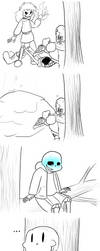 SansperimentRP - saved by sick Sans by MetaLatias5