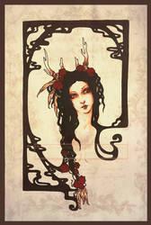 Deer Queen by LucitaniaMarie