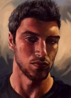 Self Portrait by sk8rnik