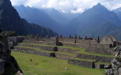 Machu Picchu wallpaper by Random-Squiggle