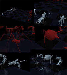 The Creepy Chess by JarothC