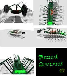Medical Centipede by JarothC