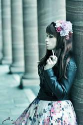 Flowers 'n Cigarettes by white-deamon