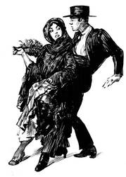 Pen and Ink Tango by shoomlah