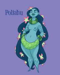 Poliahu, Goddess of Mauna Kea by shoomlah