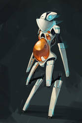INC-7 Incubation Robot by shoomlah