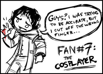 no. 7- the Cosplayer. by shoomlah