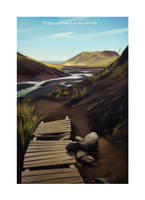 Iceland 2014 - Seljavallalaug by shoomlah